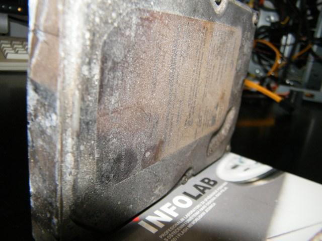 dijagnostika izgorenog hard diska